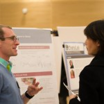 An image from the 2015 iSchool Research Fair.