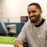 """Ph.D. student Martez Mott earned a Best Paper Award at CHI 2016 for his work, along with that of Associate Professor Jacob Wobbrock, on """"Smart Touch."""""""