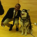Dubs, the UW mascot, made an appearance at iAffiliates Day.