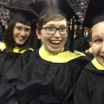 More than 300 students took part in Convocation at Hec Edmundson Pavilion.
