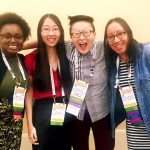 iSchool Spectrum Scholars at ALA in Orlando.